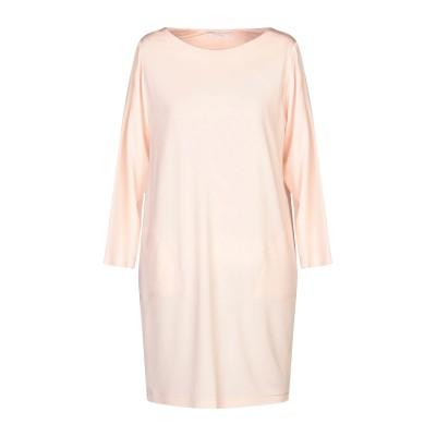 BIANCOGHIACCIO ミニワンピース&ドレス ライトピンク M アセテート 95% / ポリウレタン 5% ミニワンピース&ドレス