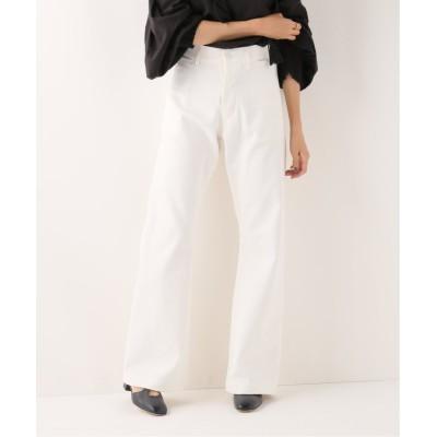 【イエナ】 US NAVY WHITE パンツ レディース ホワイト 36 IENA