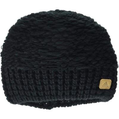 アディダス adidas レディース ニット ビーニー 帽子 Whittier II Beanie Black