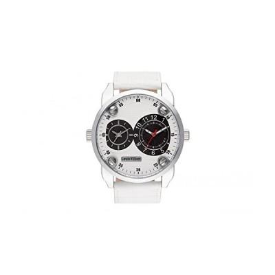 Louis Villiers Unisex-Adult Analogue Classic Quartz Watch with Leather Strap AG3736-08 並行輸入品