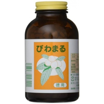 びわまる徳用 250mg×1,000粒入 花粉症 膀胱炎 炎症に 健康増進管理 アミグダリン ビタミンB12