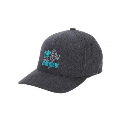 TravisMathew トラビスマシュー メンズ 男性用 ファッション雑貨 小物 帽子 野球帽 キャップ Party Parrot Hat - Heather Black