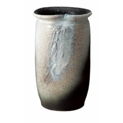 信楽焼 陶器 和風 モダン 壺 白 ホワイト 白窯変傘立て 高さ45.0cm