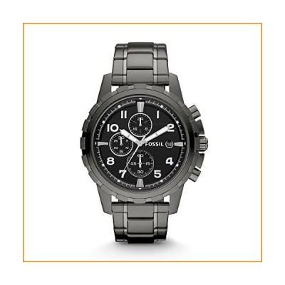 Fossil Dean FS4721 Stainless Steel Watch, Smoke【並行輸入品】