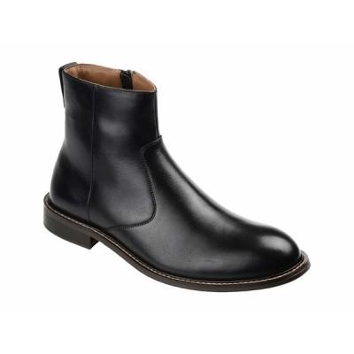 トーマス アンド バイン ブーツ&レインブーツ シューズ メンズ Faust Plain Toe Ankle Boot Black