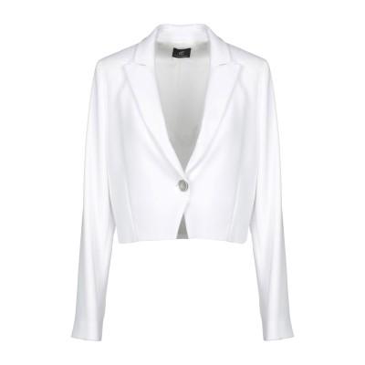 CRISTINAEFFE テーラードジャケット ホワイト 40 ポリエステル 98% / ポリウレタン 2% テーラードジャケット