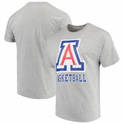 Champion チャンピオン スポーツ用品  Champion Arizona Wildcats Gray Basketball Drop T-Shirt