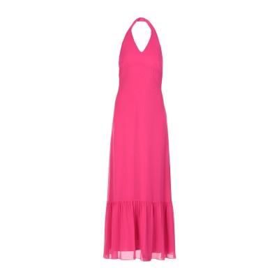 コッカ KOCCA ロングワンピース&ドレス フューシャ XS ポリエステル 100% ロングワンピース&ドレス