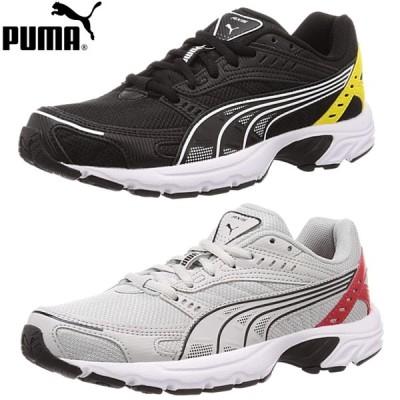 PUMA プーマ レディース ジュニア スニーカー アクシズテック PUMA Axis Tech 371136-02 371136-03 ランニングシューズ ジョギング 散歩