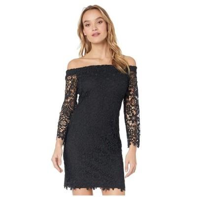 ベベ レディース ワンピース トップス Off-the-Shoulder Chemical Lace Dress