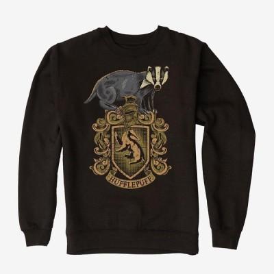 ハリーポッター スウェットシャツ トレーナー ハッフルパフ レディース メンズ Harry Potter 210122hg