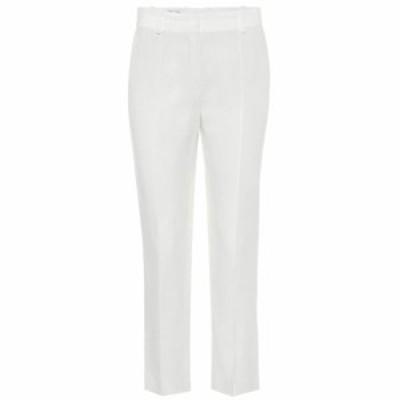 ロロピアーナ Loro Piana レディース ボトムス・パンツ High-rise straight linen pants White