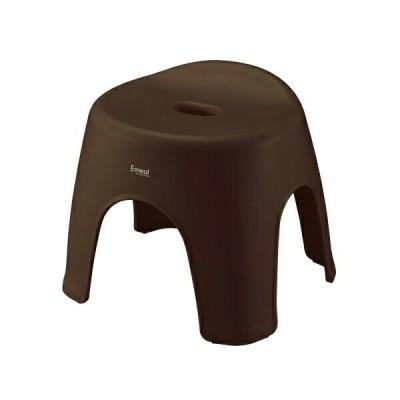 アスベル ASVEL エミール28 BR ブラウン 高さ28cm 4974908563232 emeal バス 風呂イス ふろいす 風呂椅子