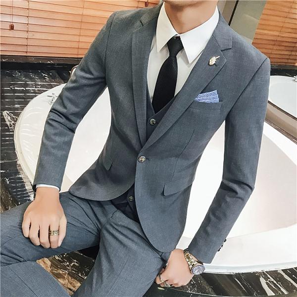 (45 Design高雄實體店面)  定製七天 大尺寸 小尺寸 西裝 西服 套裝 可來圖定做新郎伴郎晚宴服44