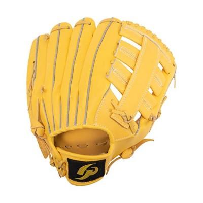 GP (ジーピー) 野球グローブ 軟式一般 右投げ用 オールラウンド 12.5インチ イエロー 43815