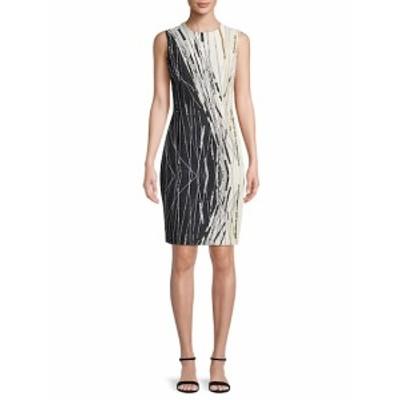 カーメンマークバルボ レディース ワンピース Abstract Sheath Dress