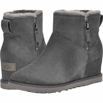 アグ UGG レディース シューズ・靴 Classic Femme Zip Mini Grey