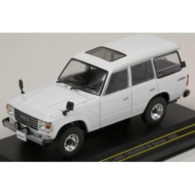 ファースト43 1/43  トヨタ ランドクルーザー 60 シリーズ 1982 (ホワイト)(F43-071)