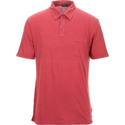 ザノーネ ZANONE メンズ ポロシャツ トップス polo shirt Red