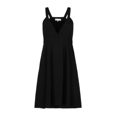 SELECTED FEMME ミニワンピース&ドレス ブラック 36 ポリエステル 100% ミニワンピース&ドレス