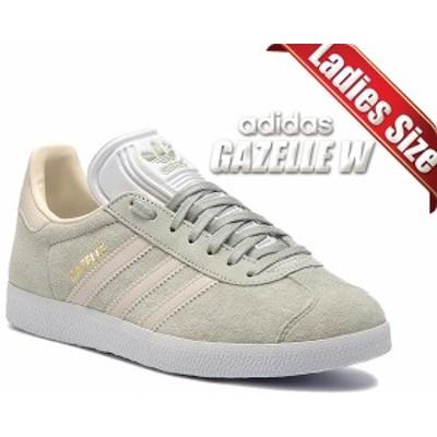 【アディダス ガゼル ウィメンズ】adidas GAZELLE W ASHSIL/CBROWN/ECRTIN cg6065 レディース スニーカー ガッツレー グリーン ベージュ
