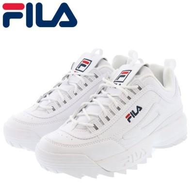 フィラ ディスラプター ダッドシューズ メンズ レディース スニーカー FILA F0215-1072 ホワイト 白色 即納 人気ブランド