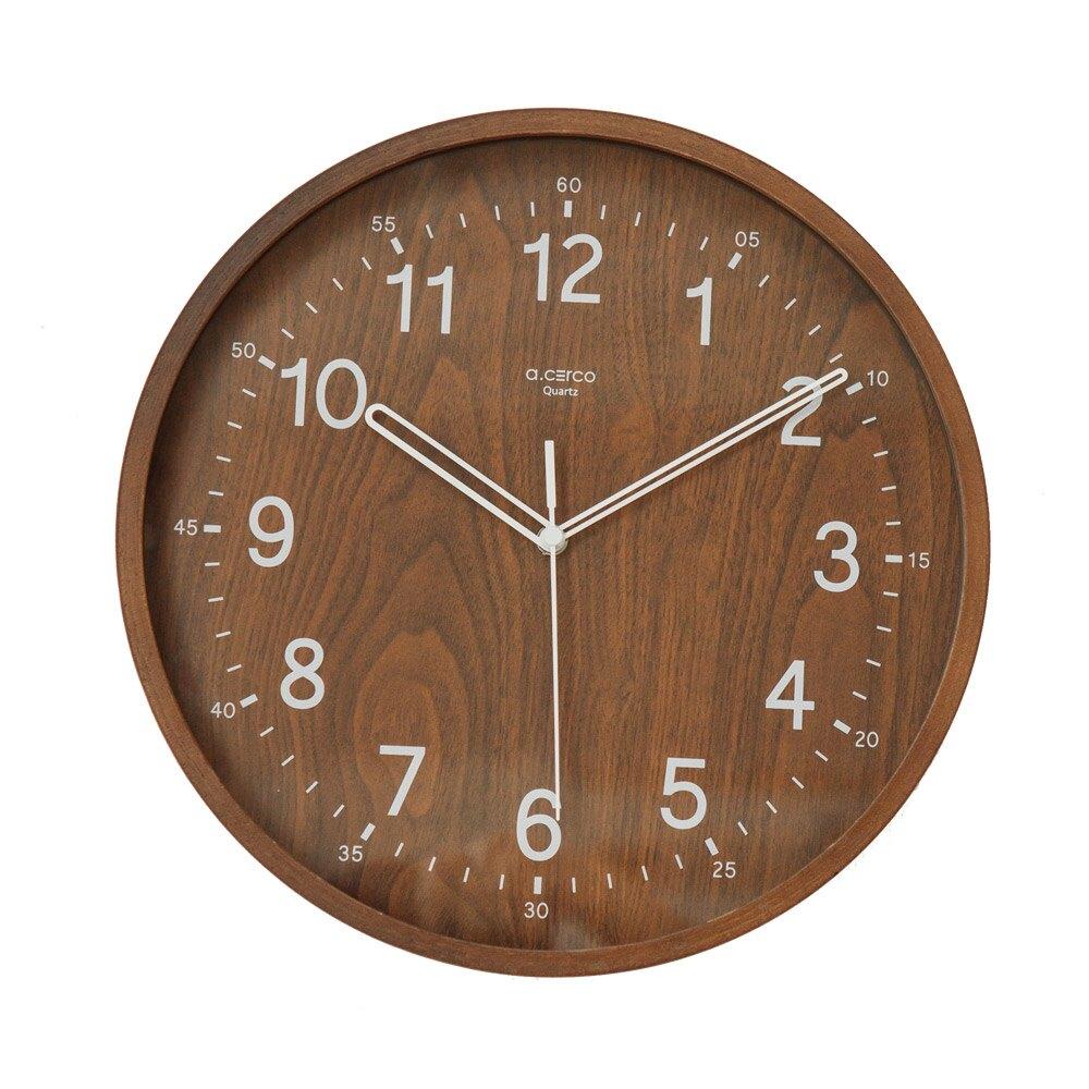 時鐘/掛鐘/壁鐘 【a.cerco】BENTWOOD 掛鐘(2色) MIT台灣製 完美主義 【R0019】