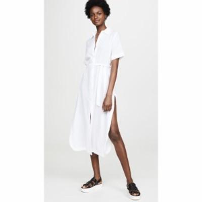 ディーエル1961 DL1961 レディース ワンピース ワンピース・ドレス Fire Island Dress Crinkled White