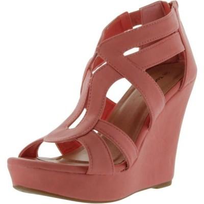 レディース 靴 サンダル Top Moda Womens Lindy-3 Wedge Sandals