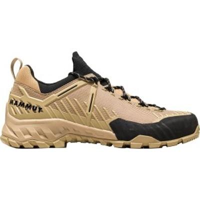 マムート メンズ スニーカー シューズ Alnasca Knit II Low Hiking Shoe Safari/Dark Safari