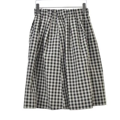 31 sons de mode / トランテアンソンドゥモード 18SS リバーシブルメモリー スカート