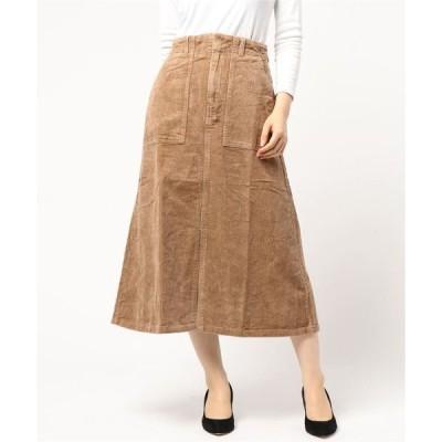 スカート 8w コーデュロイ ベーカースカート