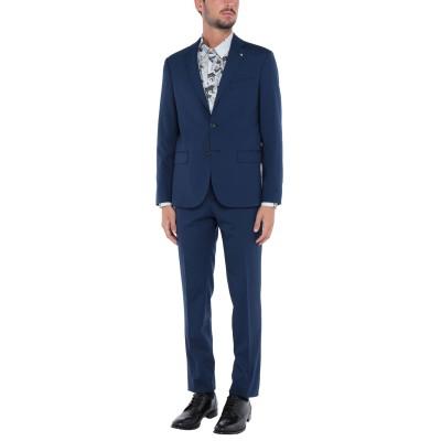 クラス ロベルト カヴァリ CAVALLI CLASS スーツ ブルー 56 ポリエステル 55% / ウール 43% / ポリウレタン 2% スーツ