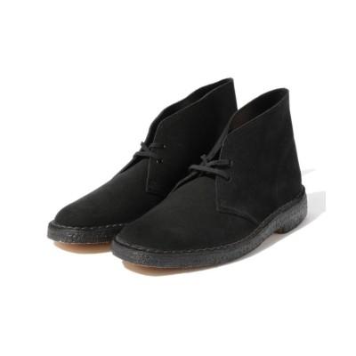【ビームス メン】 Clarks / デザート ブーツ メンズ ブラック 8 BEAMS MEN