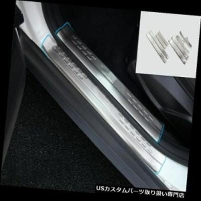 フォードの焦点15-16-17-18のためのステンレス鋼の歓迎のペダルのドアの土台の傷のトリム