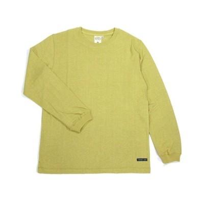 A HOPE HEMP (アホープヘンプ) REGULAR L/S TEE ヘンプコットン ロングスリーブ Tシャツ / OATS