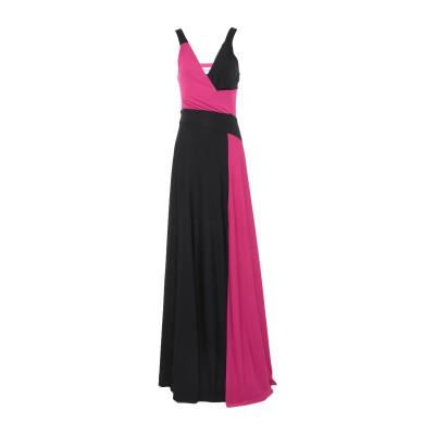 シルビアンヒーチ SILVIAN HEACH ロングワンピース&ドレス ブラック XXS ポリエステル 95% / ポリウレタン 5% ロングワンピ