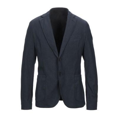 MARCIANO テーラードジャケット ダークブルー 50 コットン 97% / ポリウレタン 3% テーラードジャケット