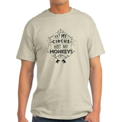 ユニセックス 衣類 トップス CafePress - Not My Circus Not My Monkeys T-Shirt - Light T-Shirt - CP Tシャツ