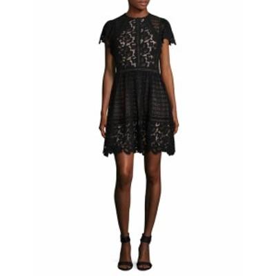 レベッカテイラー レディース ワンピース Lace Mix Cotton Dress