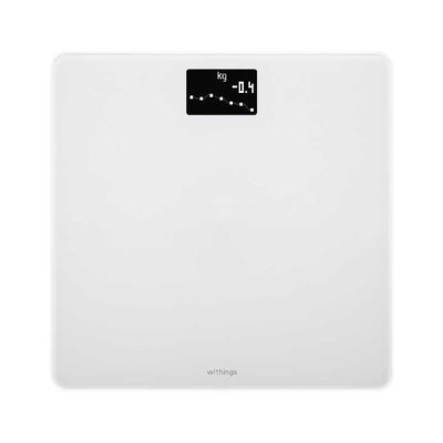 WITHINGS スマート体重計(Wi-Fi/Bluetooth対応)「Body」 WBS06-WHITE-ALL-JP (ホワイト)