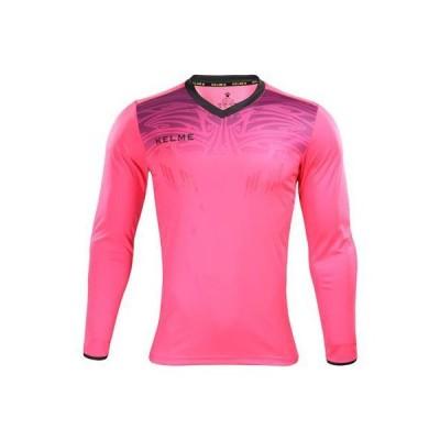 ケルメ (kelme) ゴールキーパーシャツ&パンツセット ネオンローズ×ダークグレー Sサイズ 3871007