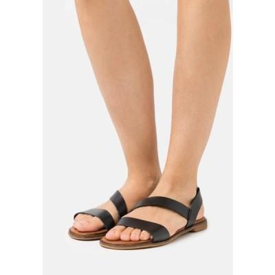 レディース サンダル Sandals - black