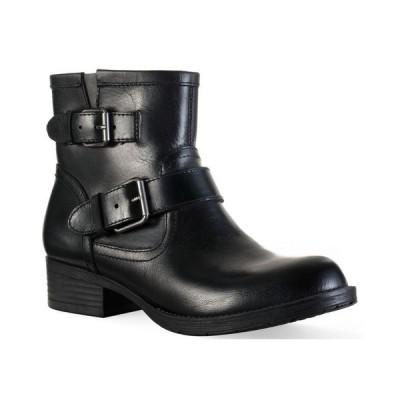 サンストーン レディース ブーツ・レインブーツ シューズ Amberr Leather Booties