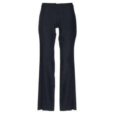 CALOMA パンツ ブラック 48 バージンウール 82% / ナイロン 14% / ポリウレタン 4% パンツ