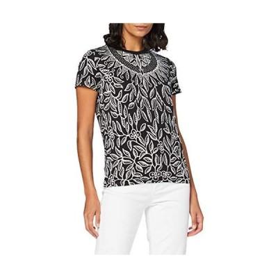 デシグアル(Desigual) Tシャツ半袖 DIEGUITA【ブラック系/M】 並行輸入品