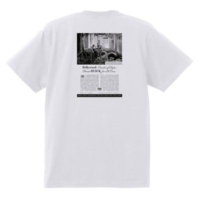 アドバタイジング ビュイック 359 白 Tシャツ 黒地へ変更可能  1935 スーパー リビエラ センチュリー ロードマスター スペシャル