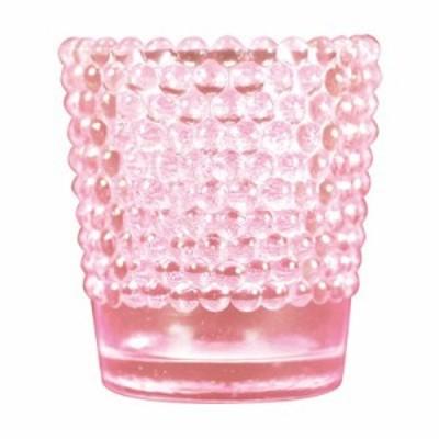 ホビネルグラス コーラルピンク(ガラス容器)