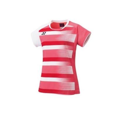 ヨネックス YONEX 20590 ウィメンズゲームシャツ テニス・バドミントン ウエア(ウィメンズ) コーラルレッド
