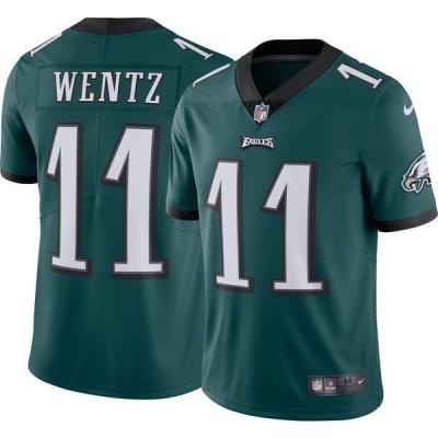ナイキ メンズ シャツ トップス Nike Men's Home Limited Jersey Philadelphia Eagles Carson Wentz #11